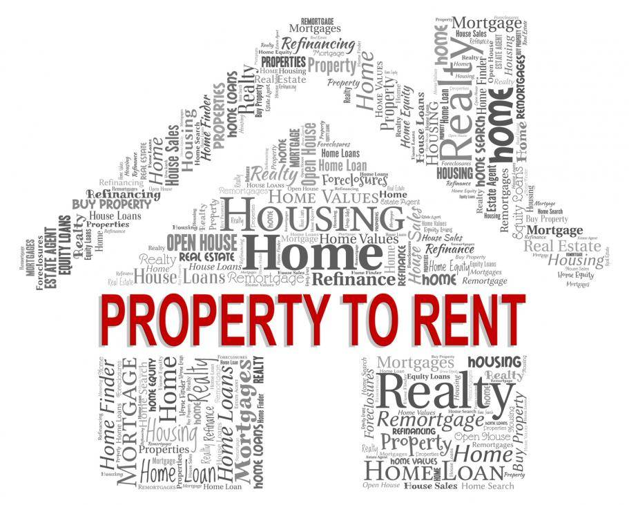 'Property To Rent' Indicating Real Estate