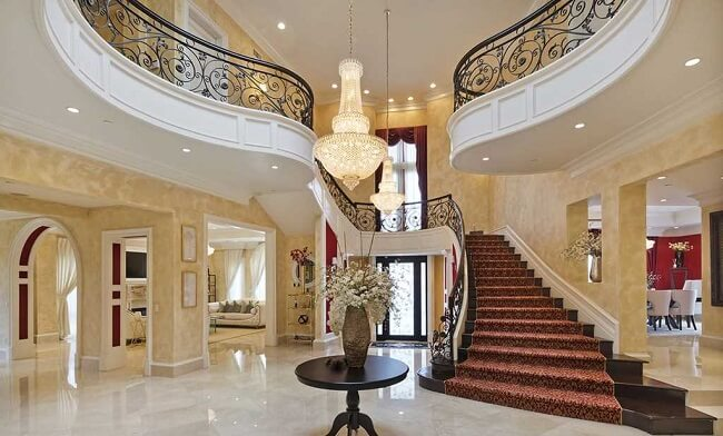 inside luxury Hollywood Hills CA home for sale