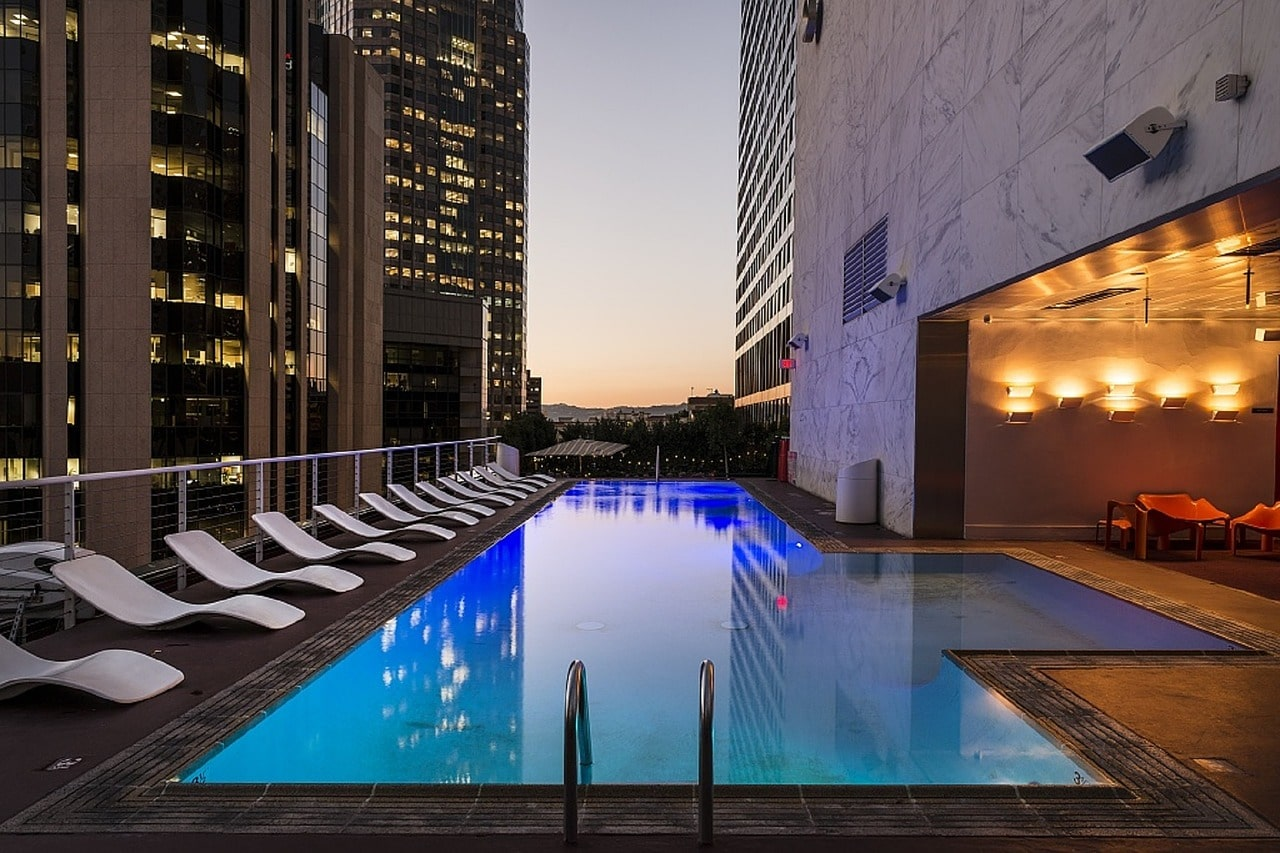 luxury Wilshire Blvd condo